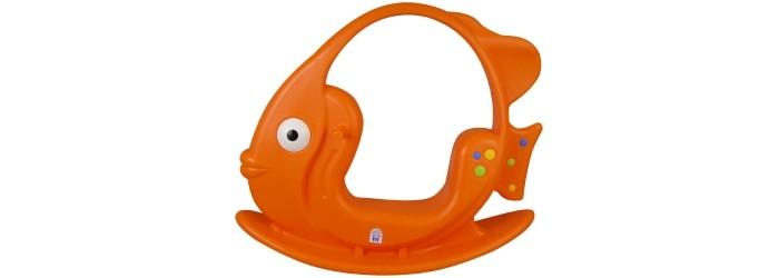 Качалка Pilsan РыбкаКачалки-игрушки<br>Детская качалка Рыбка станет любимой игрушкой Вашего малыша, ее размеры позволяют использовать ее, как на улице, так и в доме.  Качалка имеет удобные ручки, за которые ребенок может держаться, а подножки послужат прекрасной опорой для ног. Качалка имеет максимально безопасный диапазон качания.  Развивает вестибулярный аппарат, улучшает ловкость, моторные навыки. Игрушка выполнена из прочного экологически чистого пластика с соблюдением самых высоких стандартов безопасности. Максимальная нагрузка 30 кг. Размер (шхдхв): 34х106х88 см.  Цвета в ассортименте.   Компания Pilsan начала свою историю в 1942 году. Сегодня – это компания-гигант индустрии крупногабаритных детских игрушек, которая экспортирует свою продукцию в 57 стран мира. Компанией выпускается 146 наименований продукции – аккумуляторные и педальные автомобили, велосипеды, развивающие игрушки и аксессуары для детей. Вся продукция Pilsan сертифицирована и отвечает международным стандартам качества.