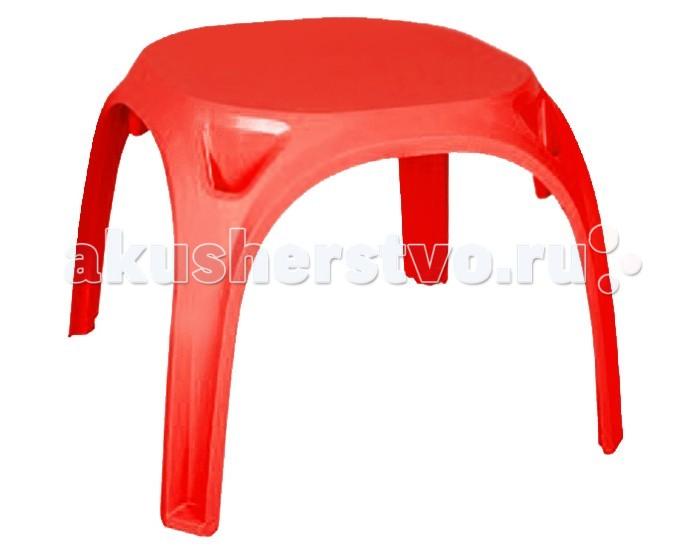 Pilsan Стол KingСтол KingPilsan Стол King - рисовать и принимать пищу, играть в игры и рассматривать книжки вашему малышу будет удобно за пластиковым столиком, произведенным из яркой безопасной пластмассы.   Стол легко перемещается, не занимает много места и обладает стильным дизайном.  Материал: пластик; Максимальная нагрузка: 50 кг; Размер: 64,5х64,5х50,5 см; Вес: 2,75 кг; Размер в упаковке: 66х66х71,5 см; Вес в упаковке: 3,53 кг; Возраст: от 3 лет.<br>