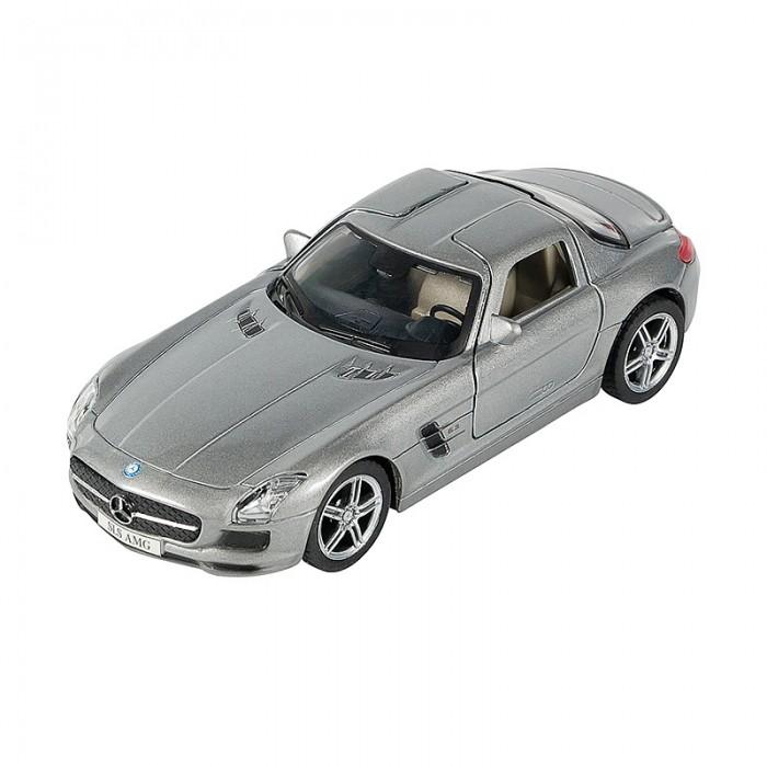 Машины Pit Stop Машинка инерционная Mercedes-Benz SLS AMG 1:32 цена