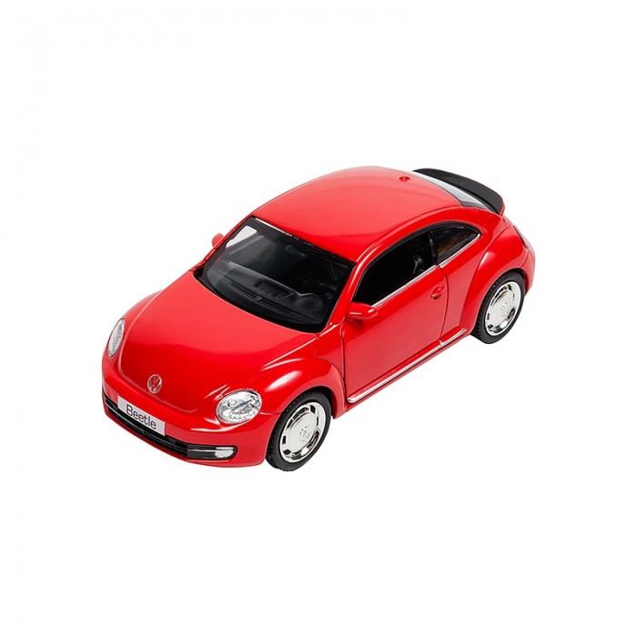 Машины Pit Stop Машинка инерционная Volkswagen New Beetle (2012) 1:32 машины pit stop машинка volkswagen touareg 1 43