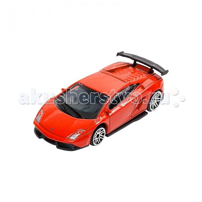 Машины Pit Stop Машинка Lamborghini LP570-4 Super Trofeo Stradale 1:64 машина pitstop lamborghini lp570 4 super trofeo stradale red ps 0616615 r