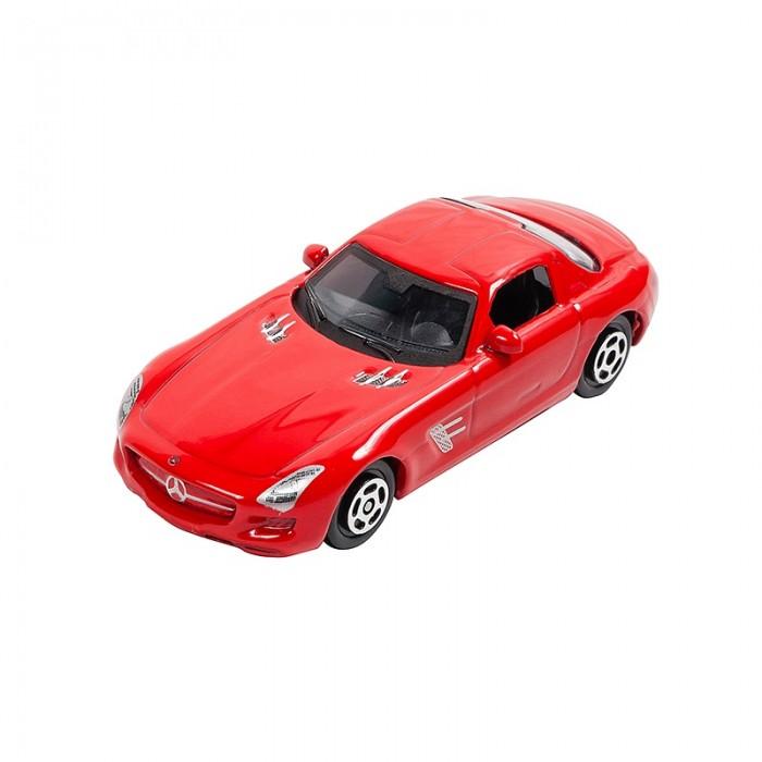Машины Pit Stop Машинка Mercedes-Benz SLS AMG 1:64 welly 84002 велли радиоуправляемая модель машины 1 24 mercedes benz sls amg