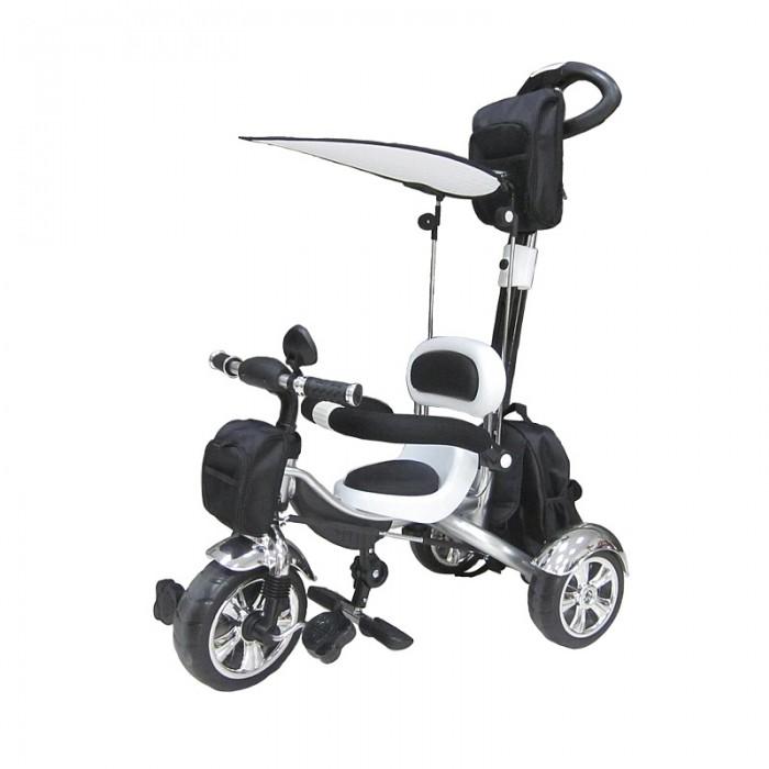 Велосипед трехколесный Pit Stop MT-BCL0815003MT-BCL0815003Велосипед трехколесный Pit Stop MT-BCL0815003  Первое собственное транспортное средство ребенка!  Особенности: Стильный дизайн.  Ручка управления движением велосипеда (регулируемая на пять положений).  Подножки для ног (складные).  Регулируемый козырёк-тент.  Три текстильные сумки для игрушек и мелочей.  Барьер безопасности.  Зеркало.  Размер - 102х50х90 см.<br>