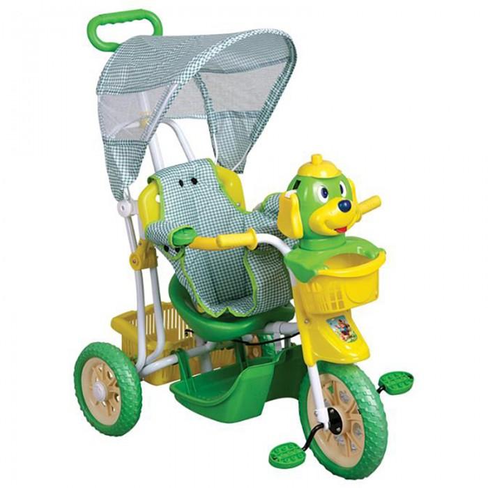 Трехколесные велосипеды Pit Stop со световыми и звуковыми эффектами радиоуправляемая модель junfa toys танк со световыми и звуковыми эффектами цвет коричневый