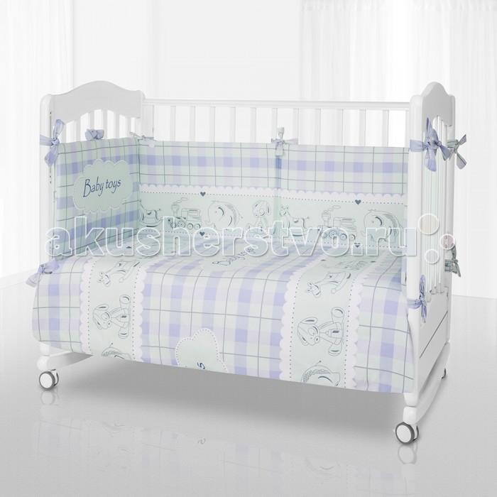 Постельные принадлежности , Комплекты в кроватку Pituso Baby Toys (6 предметов) арт: 440649 -  Комплекты в кроватку
