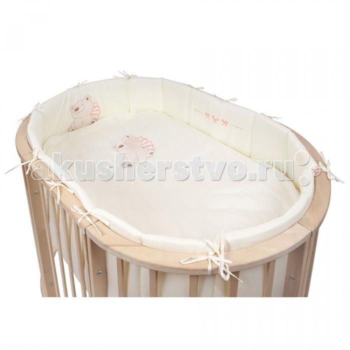 Комплект в кроватку Premiumbaby Нежный сон (6 предметов)