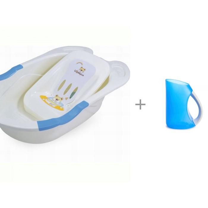 Купить Детские ванночки, Pituso Детская ванна с горкой для купания и кувшин Munchkin