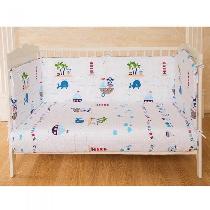 Картинка для Бортик в кроватку Pituso Морское приключение классика