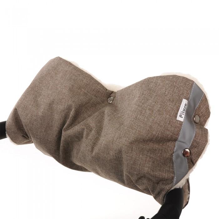 Муфты для рук Pituso Муфта для рук на коляску (мех/плащевка классика) cherrymom муфта для рук cherrymom на коляску пингвины меховая синий