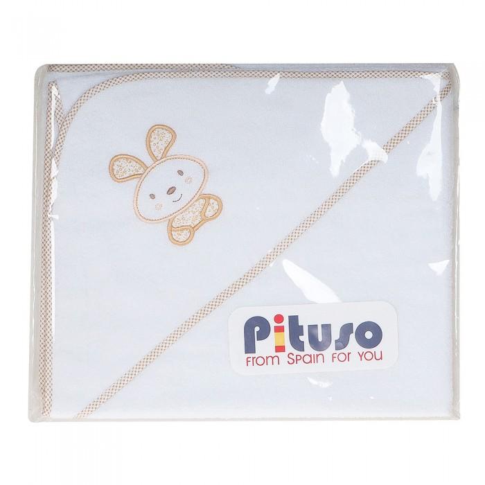 Полотенца Pituso Пеленка для купания махровая На лужайке супермамкет пеленка на липучках хлопок космо жирафы 0 3мес pnlp id11003