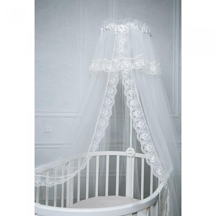 Балдахин для кроватки Pituso сетка/кружево 600х165 см