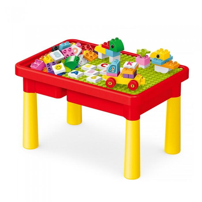 Игровые центры Pituso Стол для игры с конструктором (56 элементов)