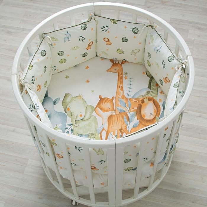 Картинка для Комплекты в кроватку Pituso универсальный Саванна слитные подушки (6 предметов)