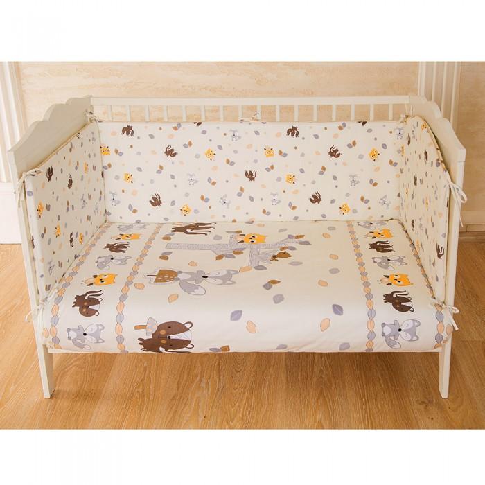 Картинка для Бортики в кроватку Pituso В Добром Лесу классика