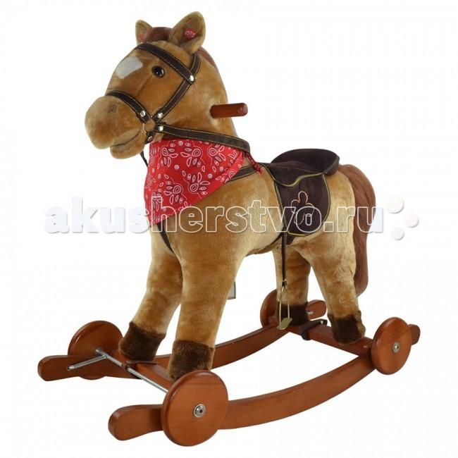 Качалки-игрушки Pituso Fandango Лошадка с колесами
