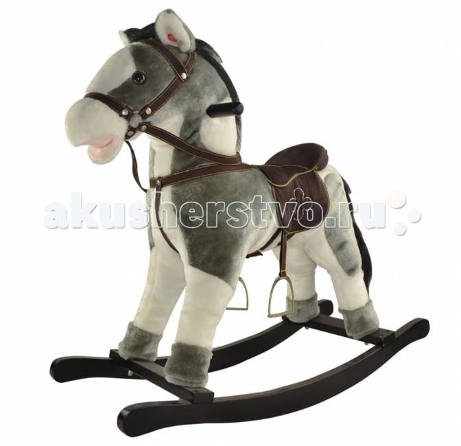 Качалка Pituso Fandango ЛошадкаFandango ЛошадкаДетская качалка-лошадка Yoyo Rock - очаровательная игрушка для малышей, которая позволит им почувствовать себя настоящими спортсменами. Игрушка имеет мягкую плюшевую шерстку, удобное седло и стремена, которые позволят максимально комфортно чувствовать себя малышу.  Характеристики: Шевелит ртом и хвостом Звуковое сопровождение – ржание и цокот копыт Игрушка работает от 3 батареек типа АА (в комплект не входят) Мягкая шерстка из плюша Длинная грива и хвост с длинным ворсом Удобное седло, сбруя Прочная конструкция из натурального дерева Гипоаллергенные материалы Ограничители на полозьях, защищают от случайного переворачивания Удобные ручки из натурального дерева для седока  Размер: 74х30х64 см<br>