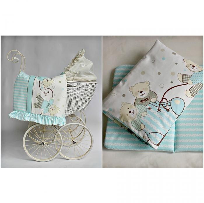 Детские коляски , Комплекты в коляску Pituso Комплект в коляску Мишки арт: 264765 -  Комплекты в коляску