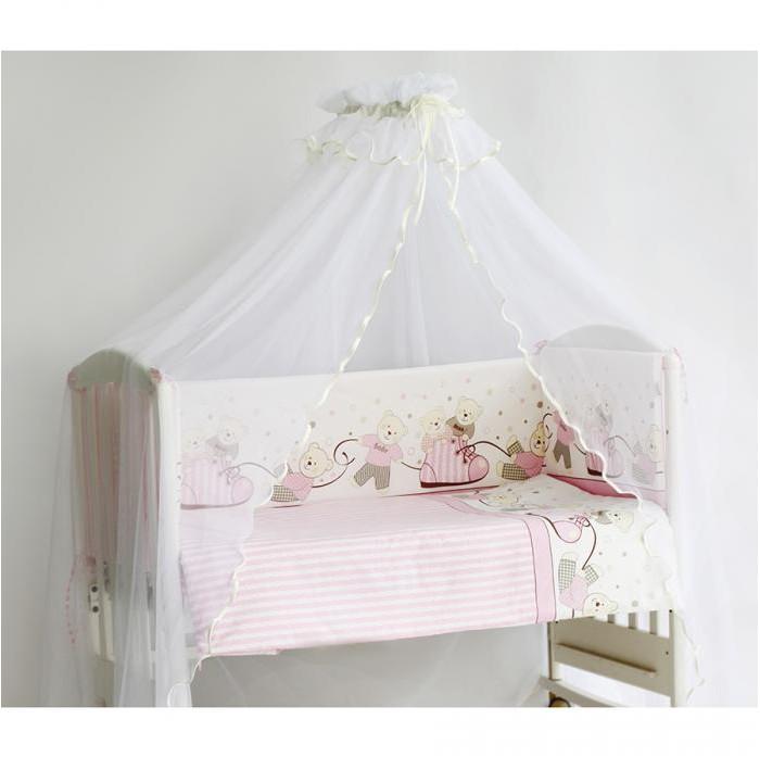 Комплект в кроватку Pituso Мишки (6 предметов)