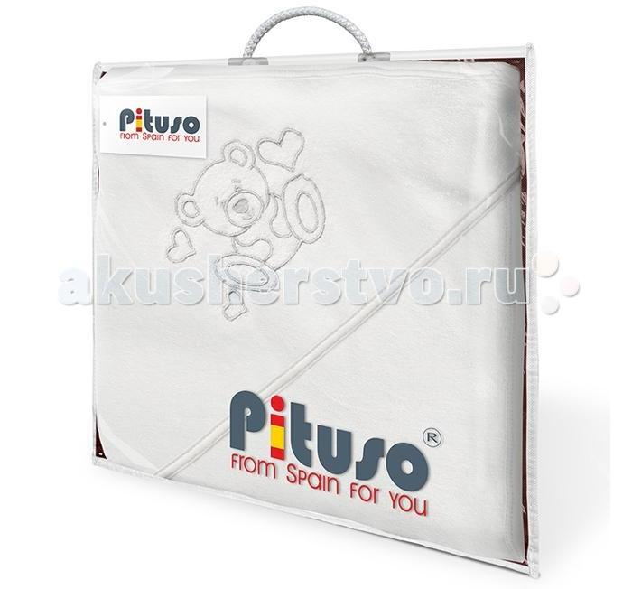 где купить  Полотенца Pituso Полотенце махровое 100х100 см  по лучшей цене