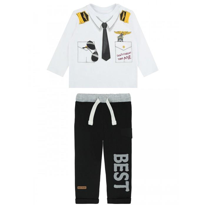 Pixo Комплект для мальчиков брюки и лонгслив Compar