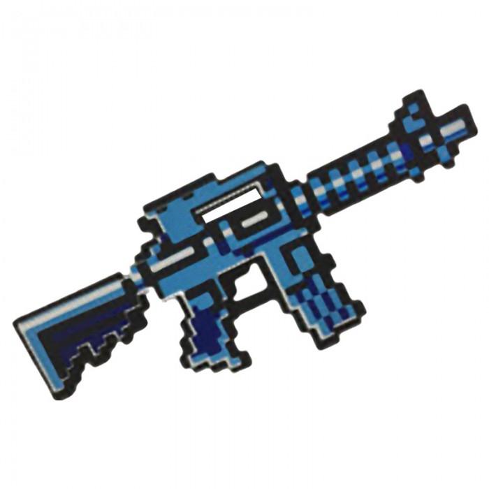 Фото - Игрушечное оружие Pixel Crew Игрушечное оружие Автомат М4 8 Бит пиксельный 39 см игрушечное оружие яигрушка автомат ппш