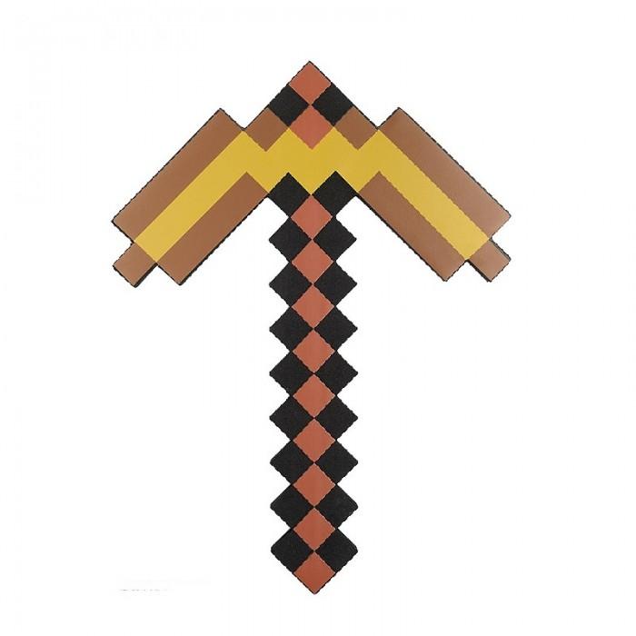 игрушечное оружие Игрушечное оружие Pixel Crew Игрушечное оружие Кирка 8 Бит пиксельная 45 см