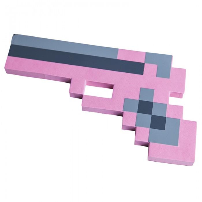 Игрушечное оружие Pixel Crew Игрушечное оружие Пистолет 8 Бит пиксельный 22 см игрушечное оружие jja дротики с мелом для wipe out 3 шт