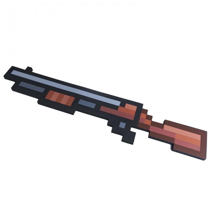 Игрушечное оружие Pixel Crew Игрушечное оружие Винтовка 8 Бит пиксельная 75 см игрушечное оружие jja дротики с мелом для wipe out 3 шт