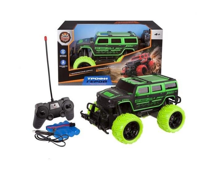 Радиоуправляемые игрушки Пламенный мотор Джип Трофи Герой на радиоуправлении