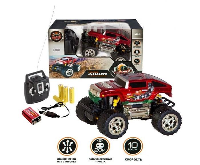 Радиоуправляемые игрушки Пламенный мотор Джип Трофи Монстр на радиоуправлении