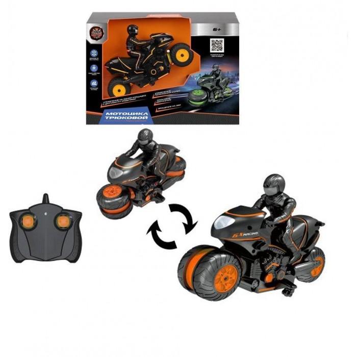 Картинка для Радиоуправляемые игрушки Пламенный мотор Мотоцикл радиоуправляемый Трюковой