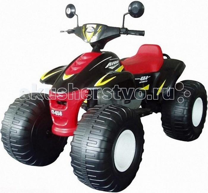 Электромобиль Пламенный мотор CT-658 Big Beach Racer 95007/95008CT-658 Big Beach Racer 95007/95008Пламенный мотор Квадроцикл CT-658 Big Beach Racer 95007/95008 предназначен для детей от 3 до 8 лет.  У квадроцикла CT-658 Big Beach Racer ведущими являются задние колеса. Электроквадроцикл оснащен двумя аккумуляторными батареями по 6V/12AH и имеет три передачи: две передние (скорость квадроцикла на первой передаче - 3.5 км/ч, на второй - 7 км/ч) и одну заднюю (скорость 3,5 км/ч).   Передачи переключаются с помощью кнопок на панели перед рулем.  Квадроцикл трогается с места сразу с установленной передачи (первой, второй или задней), после того как ребенок нажимает на педаль газа. Как только ребенок отпустит педаль газа, электроквадроцикл сразу останавливается.   Детский электроквадроцикл CT-658 Big Beach Racer легко преодолевает подъем с углом уклона до 10%.   Модель CT-658 Big Beach Racer отличается большой проходимостью и может ездить по любой поверхности (асфальт, земля, песок, гравий, трава).  Все колеса на электроквадроцикле пластмассовые с резиновыми накладками.  У квадроцикла имеются зеркала заднего вида.  На детском электроквадроцикле CT-658 Big Beach Racer есть кнопка, при нажатии на которую звучат мелодии.   Среднее время езды при полностью заряженном аккумуляторе от 45 до 60 минут, оно зависит от нагрузки на электроквадроцикл и от передачи, на которой катается ребенок.  Аккумуляторы находятся под сидением и легко вынимаются для подзарядки.  Характеристики:  Электроквадроцикл предназначен для детей от 3 до 8 лет Размеры квадроцикла (ДхШхВ): 120 х 75 х 89 см Двигатель: 12 V Аккумулятор: 12 V/ 12 AH Аккумуляторы заряжаются до 10 часов Скорость движения: 3,5-7 км/ч Грузоподъемность: 50 кг.<br>