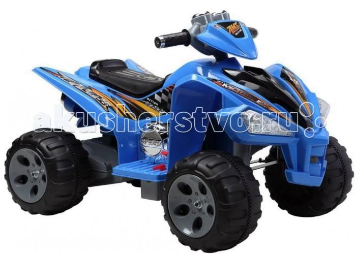 Электромобиль Пламенный мотор Квадроцикл 8608Квадроцикл 8608Квадроцикл Пламенный мотор 86082/86083/86084 - отличный выбор активным и любознательным детям. На такой машине юный водитель почувствует себя уверенно и получит массу удовольствия от прогулки.  Управление квадроциклом способствует развитию крупной и мелкой моторики, формирует мускулатуру, влияет на координацию движений, учит ориентироваться на местности, принимать осмысленные решения.  Предназначен для детей возрастом от 3-х до 8-ми лет.  Особенности: Двигатель - 2х6V, 25W  Аккумулятор - 12V, 7AH  Скорость движения - 3-5 км/ч  Максимальная нагрузка - 30 кг Размер квадроцикла (дхшхв): 97 х 66 х 65 см<br>