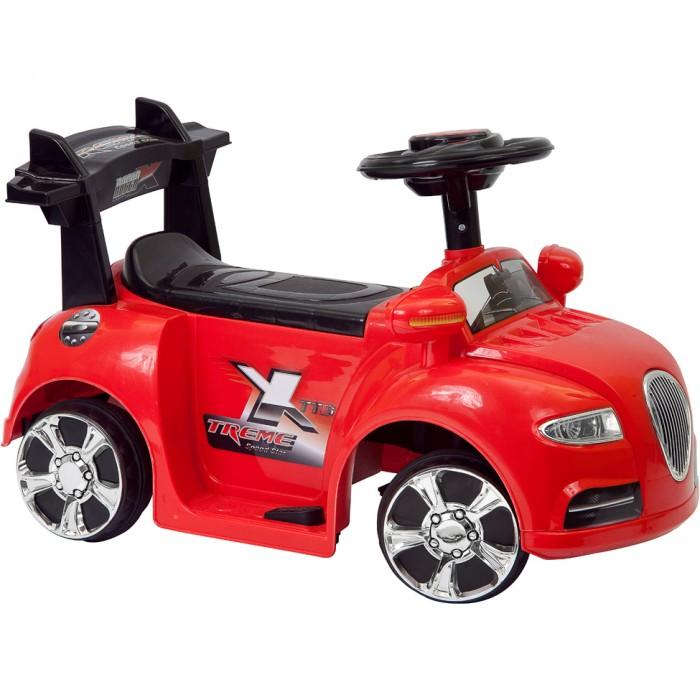 Электромобиль Shanghai Inter-World Машина 8612Машина 8612Пламенный мотор Машина 86121/86122/86123/86124 предназначена для маленьких детей весом до 20 кг. Каталка работает от пульта управления. Малышу достаточно сесть в автомобиль, поставить ножки на ступеньки и крепко держаться за руль. Машинка абсолютно безопасна.   Движение возможно в любом направлении. При движении автомобиля вперед или назад загораются соответственно фонари или фары. Автомобиль можно запустить с помощью пульта управления или нажав ножную педаль. Спойлер выполняет роль поддерживающей спинки. Руль легко крутится. Сигнальная кнопка издает гудок.  Особенности:  Размер автомобиля (ДхШхВ): 70 х 35 х 42,5 см Электродвигатель: 6V12W Аккумулятор: 1х6V/AH Зарядка аккумулятора: 8-12 часов Максимальная скорость: 2,5 км/ч  Грузоподъемность: 20 кг  Комплектация:  Корпус автомобиля - 1 шт. Задний спойлер - 1 шт. Руль - 1 шт. Зеркала заднего вида - 1 шт. Колеса - 4 шт. Колесные колпаки - 8 шт. Сидение - 1 шт.<br>