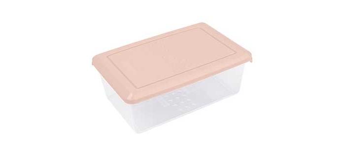 Картинка для Контейнеры для еды Plast Team Емкость для хранения продуктов прямоугольная Pattern 1.05 л