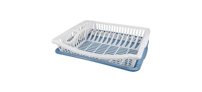 Картинка для Хозяйственные товары Plast Team Сушилка для посуды и столовых приборов Stockholm 47х37х8 см