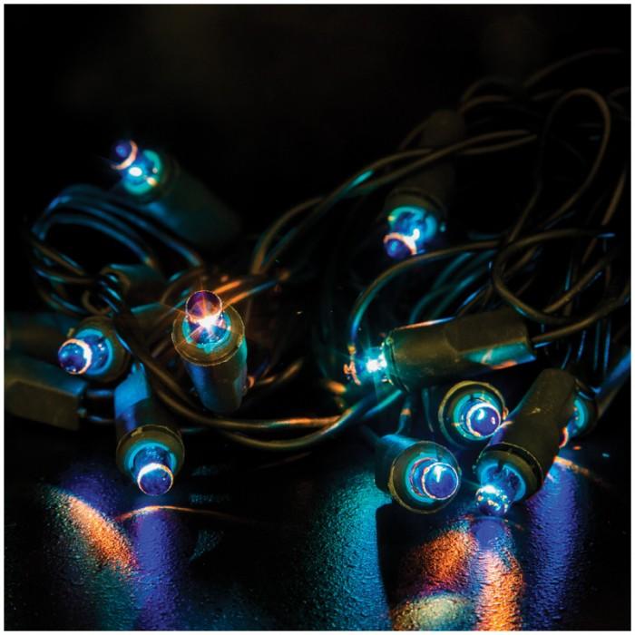 Новогодние украшения Пластиндустрия Электрогирлянда Рис 100 ламп 6 м недорого