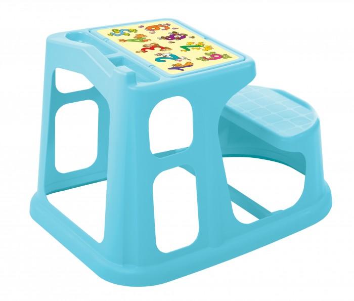 Пластишка Стол-парта с аппликацией 55х73х50 см