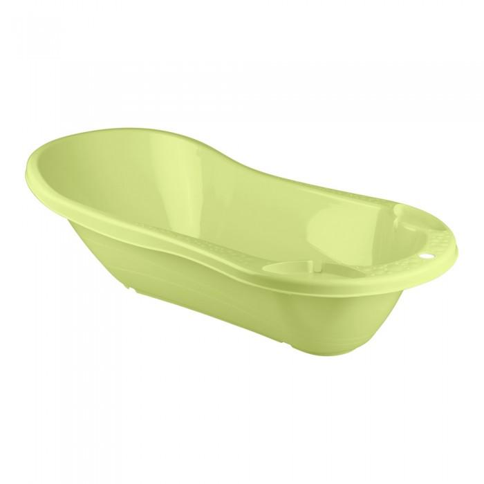 Детские ванночки Пластишка Ванна детская с клапаном для слива воды выпечка и приготовление пластишка тёрка детская 200х98х26 мм