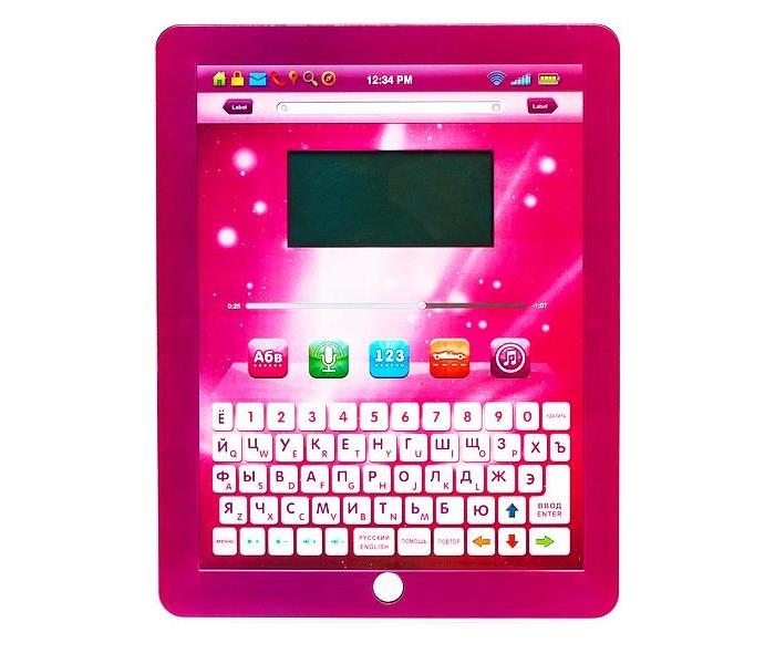 Play Smart Обучающий планшет русско-английский с цветным экраном Б48225