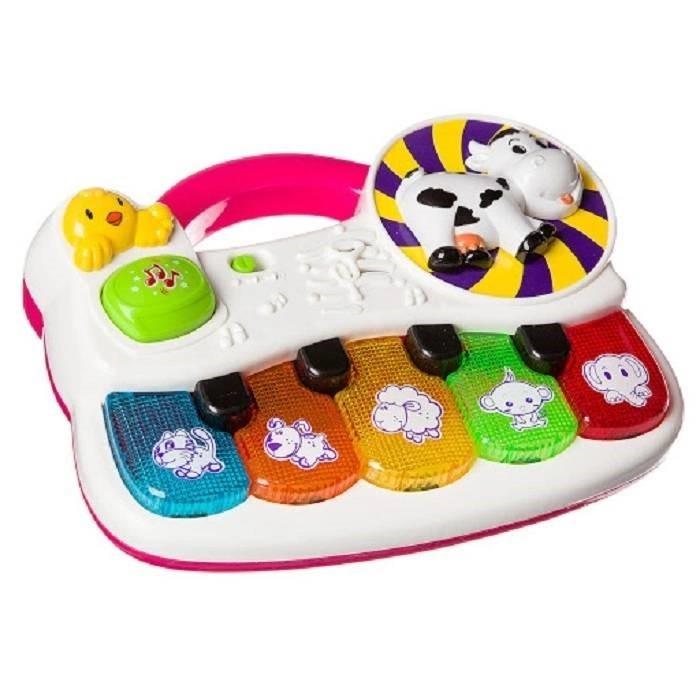 Картинка для Музыкальный инструмент Play Smart Развивающая игрушка Пианино Веселые зверята