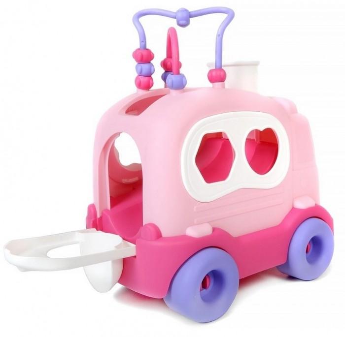 Фото - Сортеры Play Smart каталка с лабиринтом Elefantino Школьный автобус plantoys сортер каталка plan toys автобус