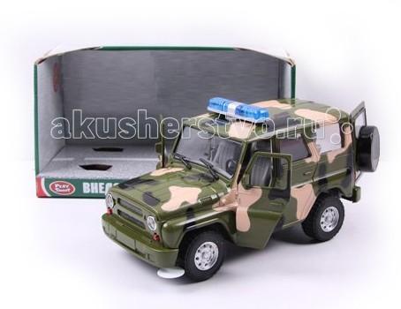 Машины Play Smart Машинка инерционная УАЗ Hunter 23 см машины play smart автопарк инерционная машина вс р41433