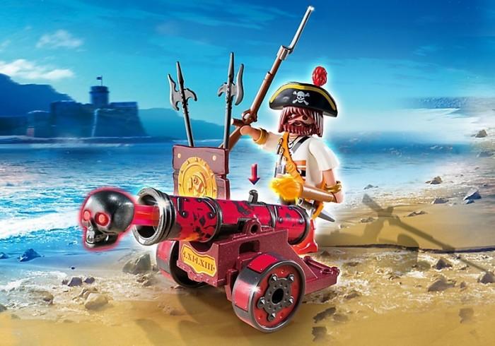 Конструктор Playmobil Интерактивная пушка с капитаном пиратов