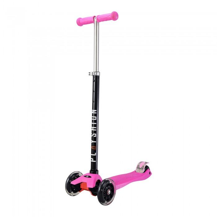 Детский транспорт , Трехколесные самокаты Playshion Maxi со светящимися колесами арт: 457046 -  Трехколесные самокаты