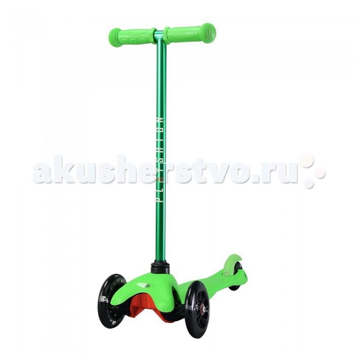 Детский транспорт , Трехколесные самокаты Playshion Mini со светящимися колесами арт: 457131 -  Трехколесные самокаты