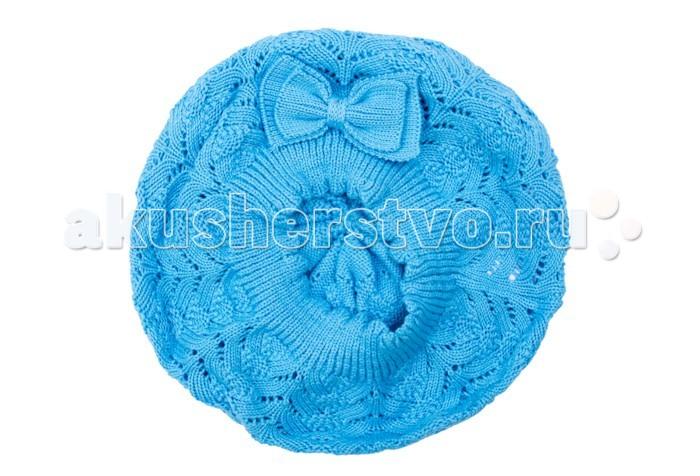 Шапки, варежки и шарфы Playtoday Берет для девочки Веселая улитка 178086 шапки варежки и шарфы playtoday шапка для девочки 120222050