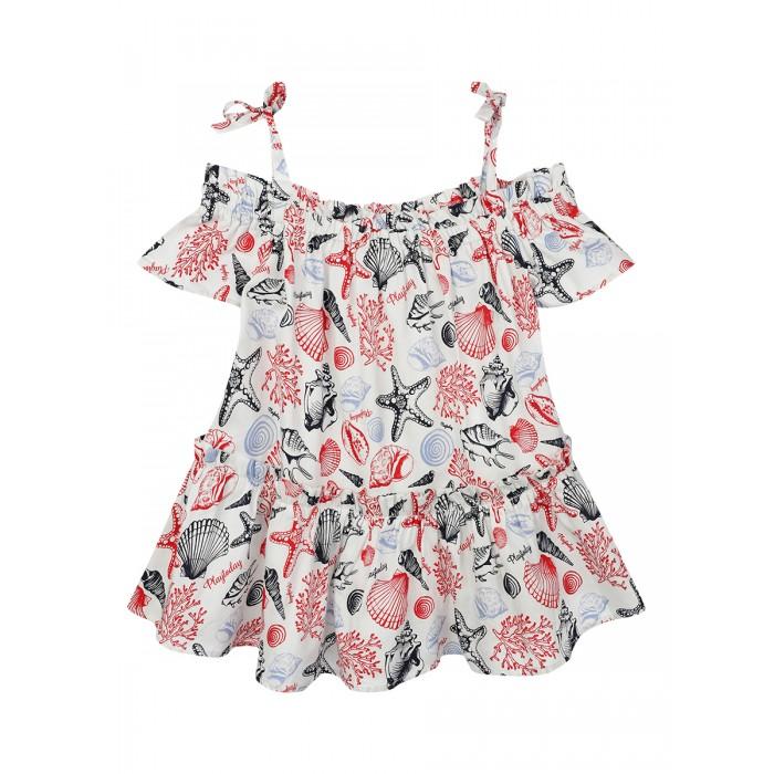 Блузки Playtoday Блузка для девочки 220121056 блузки lafei nier блузка page 9