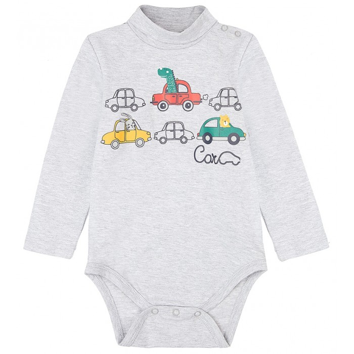 Playtoday Боди для мальчика Car collection baby boys