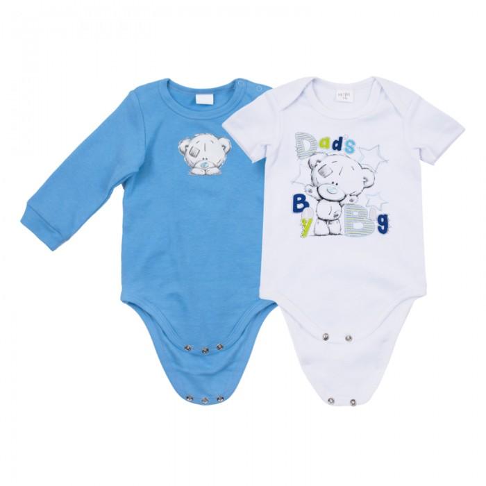 Боди и песочники Playtoday Боди для мальчиков Маленький динозаврик 2 шт. 687801 одежда для детей